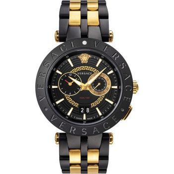 Relojes & Joyas Hombre Relojes analógicos Versace VEBV00619, Quartz, 46mm, 5ATM Negro