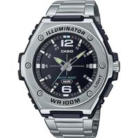 Relojes & Joyas Hombre Relojes analógicos Casio MWA-100HD-1AVEF, Quartz, 50mm, 10ATM Plata