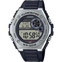 Relojes & Joyas Hombre Relojes digitales Casio MWD-100H-1AVEF, Quartz, 50mm, 10ATM Plata