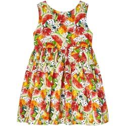 textil Niña Vestidos cortos Mayoral Vestido estampado Naranja