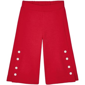 textil Niña Pantalones Mayoral Pantalon culotte botones Rojo