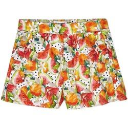 textil Niña Shorts / Bermudas Mayoral Falda pantalon estampado Naranja