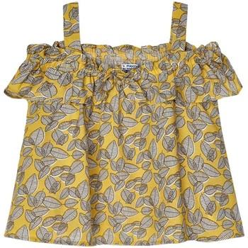 textil Niña Tops / Blusas Mayoral Bluson amarillo