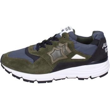 Zapatos Hombre Deportivas Moda Atlantic Stars BJ492 Verde