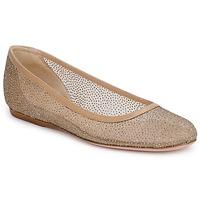 Zapatos Mujer Bailarinas-manoletinas Sebastian GLIME Beige