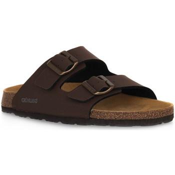 Zapatos Hombre Zuecos (Mules) Grunland MOGANO 40BOBO Marrone