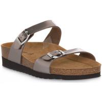 Zapatos Mujer Zuecos (Mules) Grunland BRONZO 11HOLA Marrone