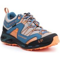Zapatos Hombre Senderismo Garmont 9.81 Trail Pro III GTX 481221-211 azul  , naranja, gris