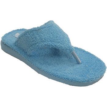 Zapatos Mujer Pantuflas Andinas Chanclas de toalla de dedo planta de ray beige