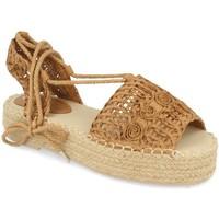 Zapatos Mujer Alpargatas Milaya 3S3 Camel