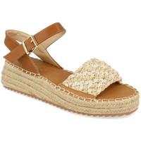 Zapatos Mujer Alpargatas Milaya 3S4 Beige