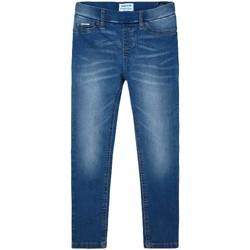 textil Niña Vaqueros slim Mayoral Pantalon cerrado tejano basic Medio Azul