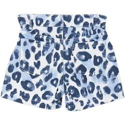 textil Niña Shorts / Bermudas Mayoral Pantalon corto tiro alto Azul