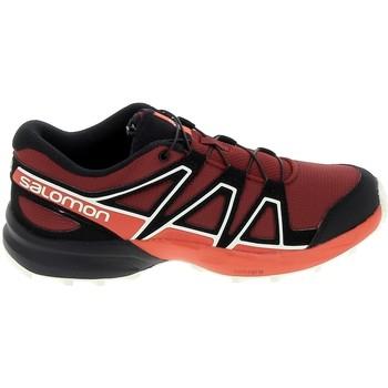 Zapatos Niños Zapatillas bajas Salomon Speedcross K Rouge Noir Rojo