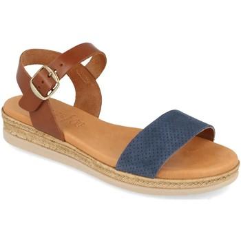 Zapatos Mujer Sandalias Visanze 20046 Azul