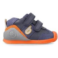 Zapatos Hombre Botas Biomecanics 212151A ZAPATILLAS AZUL Azul