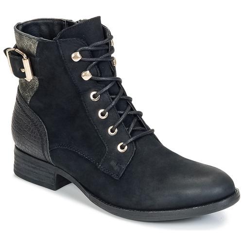 Aldo SAYDDA Negro - Envío gratis | ! - Zapatos Botas de caña baja Mujer