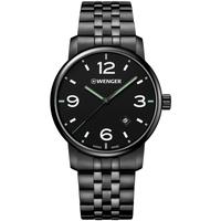 Relojes & Joyas Hombre Relojes analógicos Wenger 01.1741.119, Quartz, 42mm, 10ATM Negro