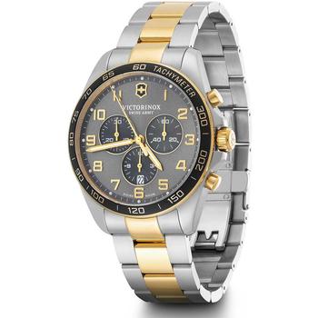 Relojes & Joyas Hombre Relojes analógicos Victorinox 241902, Quartz, 42mm, 10ATM Plata