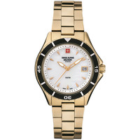 Relojes & Joyas Mujer Relojes analógicos Swiss Alpine Military 7740.1113, Quartz, 36mm, 10ATM Oro
