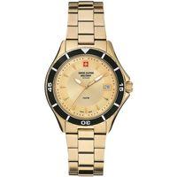 Relojes & Joyas Mujer Relojes analógicos Swiss Alpine Military 7740.1111, Quartz, 36mm, 10ATM Oro