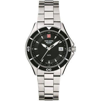 Relojes & Joyas Mujer Relojes analógicos Swiss Alpine Military 7740.1137, Quartz, 36mm, 10ATM Plata