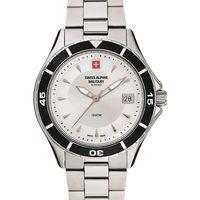 Relojes & Joyas Mujer Relojes analógicos Swiss Alpine Military 7740.1132, Quartz, 36mm, 10ATM Plata