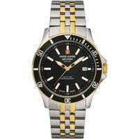 Relojes & Joyas Hombre Relojes analógicos Swiss Alpine Military 7022.1147, Quartz, 42mm, 10ATM Plata