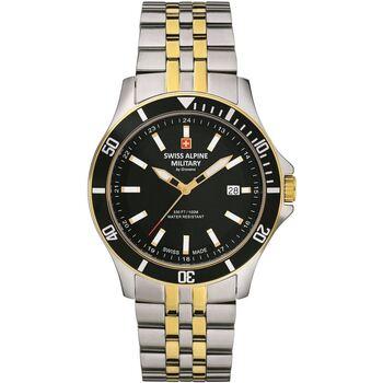 Relojes & Joyas Hombre Relojes analógicos Swiss Alpine Military 70.221.147, Quartz, 42mm, 10ATM Plata