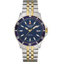 Relojes & Joyas Hombre Relojes analógicos Swiss Alpine Military 7022.1145, Quartz, 42mm, 10ATM Plata