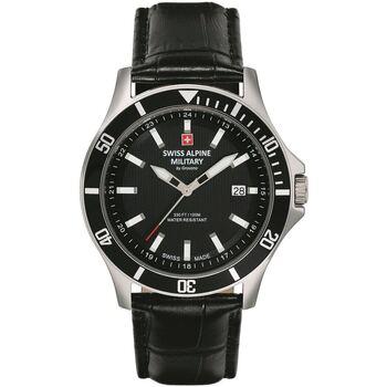 Relojes & Joyas Hombre Relojes analógicos Swiss Alpine Military 70.221.537, Quartz, 42mm, 10ATM Plata