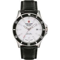 Relojes & Joyas Hombre Relojes analógicos Swiss Alpine Military 70.221.532, Quartz, 42mm, 10ATM Plata