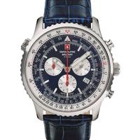 Relojes & Joyas Hombre Relojes analógicos Swiss Alpine Military 7078.9535, Quartz, 46mm, 10ATM Plata