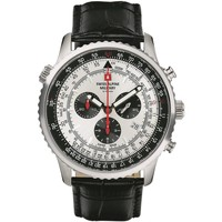 Relojes & Joyas Hombre Relojes analógicos Swiss Alpine Military 7078.9538, Quartz, 46mm, 10ATM Plata