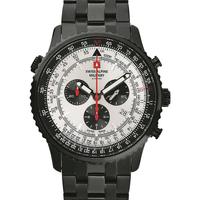 Relojes & Joyas Hombre Relojes analógicos Swiss Alpine Military 70.789.172, Quartz, 46mm, 10ATM Negro