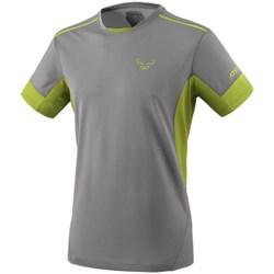 textil Hombre Camisetas manga corta Dynafit Vertical 2 M SS Grises, Verde claro