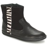 Zapatos Niña Botas de caña baja Citrouille et Compagnie ELLIA Negro