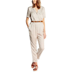 textil Mujer Monos / Petos French Connection  Beige