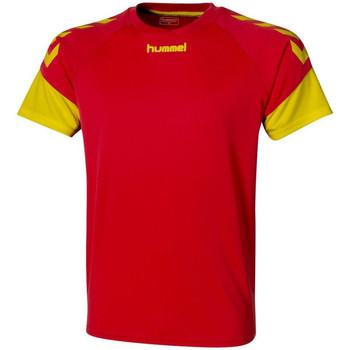 textil Hombre Camisetas manga corta Hummel  Amarillo