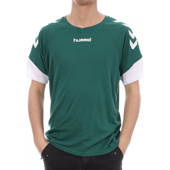 textil Hombre Camisetas manga corta Hummel  Verde