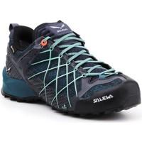 Zapatos Mujer Senderismo Salewa Buty trekkingowe  Wildfire GTX 63488-3838 azul marino, azul  , negro