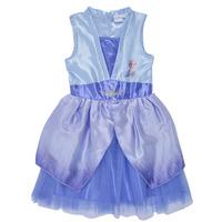 textil Niña Vestidos cortos TEAM HEROES  FROZEN DRESS Azul