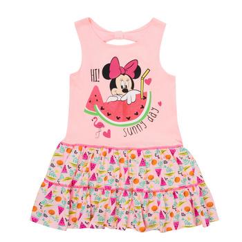 textil Niña Vestidos cortos TEAM HEROES  MINNIE DRESS Rosa