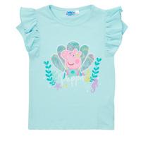 textil Niña Camisetas manga corta TEAM HEROES  PEPPA PIG TEE Azul