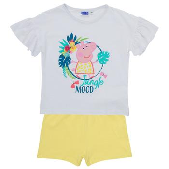 textil Niña Conjunto TEAM HEROES  PEPPA PIG SET Multicolor