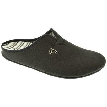 Zapatos Hombre Pantuflas Garzon ZAPATILLAS SR   NEGRO Negro
