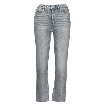 textil Mujer Vaqueros slim Only ONLEMILY Gris