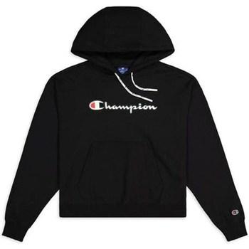 textil Mujer Sudaderas Champion Hooded Sweatshirt Nbk Negros