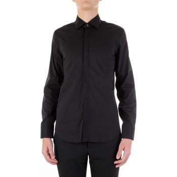 textil Hombre Camisas manga larga Manuel Ritz 3030E651-213229 Negro