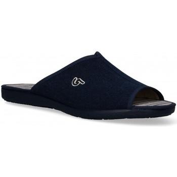Zapatos Hombre Pantuflas Garzon 54978 azul